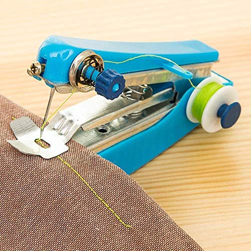 ETH DED Spritumn Mini Handheld Sewing Machine, Stitch Machine Portable Fabric Curtains...