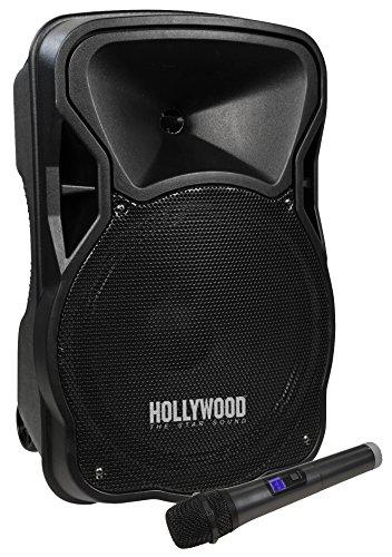 HOLLYWOOD the Starsound - Mobile Beschallungsanlage/PA-Anlage | MB-12 | 500W, Funkmikrofon