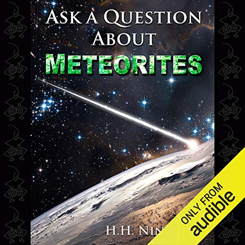 Ask a Question About Meteorites audiobook cover art