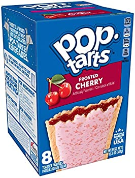 96-Count Pop-Tarts Frosted Cherry Breakfast Toaster Pastries, 13.5 Oz