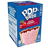 Pop-Tarts, Breakfast Toaster Pastries, Frosted Cherry, Proudly Baked in the USA, (8 tarts), 13.5 oz, Pack of 12