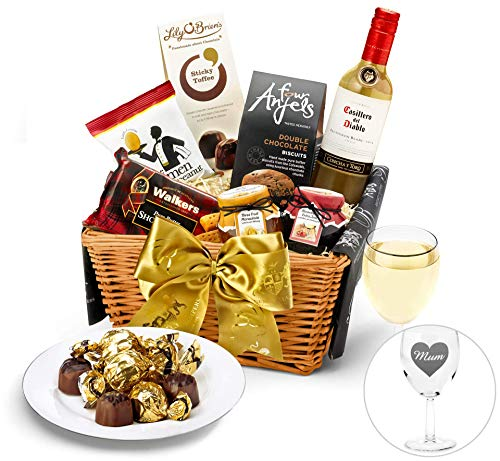 Mother's Day Windermere Hamper With White Wine