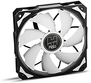 Nox H-FAN PWM - NXHUMMERF120PWM - Ventilador para Caja PC, 120 mm, Color Blanco