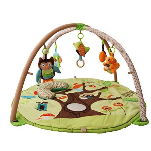 CarPET ZI Ling Shop- ☺ Ramper Tapis Forêt Jeu Couverture Bébé Puzzle Jeu Tapis Animal Enfants Ramper Tapis Bébé Pad (92x92x48cm)