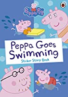 Peppa Goes Swimming 0241294576 Book Cover