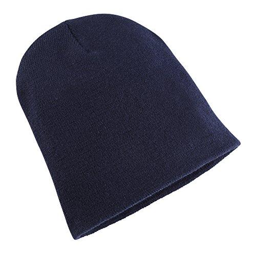 Flexfit Yupoong - Bonnet - Homme Bleu Bleu marine taille unique