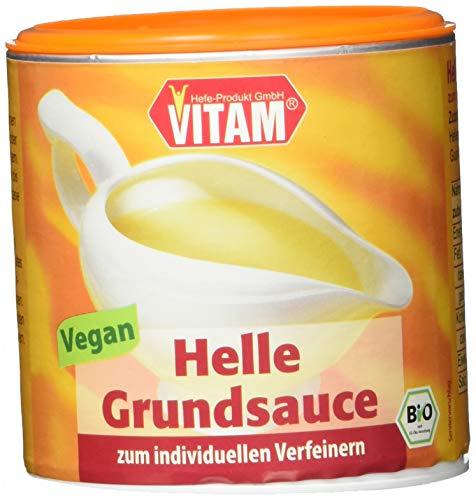 Vitam Helle Grundsauce, 3er Pack (3 x 125 g)