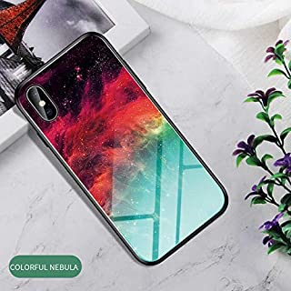 WSDDNTZ Gradient Tempered Glass Case For Oppo Find X A9 R17 F11 Pro K1 Reno 10X Zoom Z A1K Realme 3 Pro Lite R15X Phone Case Cover Shell For Oppo R17 Pro 1