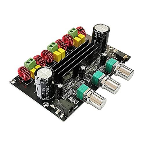 JYDQB Bluetooth 5.0 2 * 80w + 100w Tpa3116d2 Placa de Amplificador de subwoofer de Potencia 2.1 Canales Tpa3116 Audio estéreo