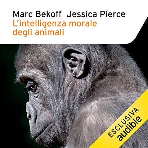 L'intelligenza morale degli animali cover art