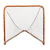 STX Lacrosse Folding Backyard Lacrosse Goal, Orange, 4 x 4-Feet