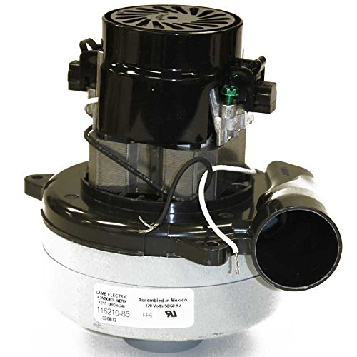 """TVP Replacement for Lamb 5.7"""" 120 Volt B/B 2 STG Tangential with Flange Vacuum Motor // L-116210-85"""