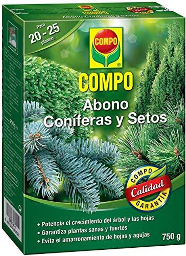 COMPO 750 g Abono setos de larga, tipo de coníferas y plantas...