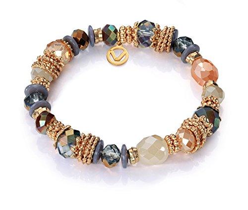 Pulsera Viceroy Fashion 7008P09017 Dorado, cristal y piedras