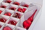 Weihnachtskugel Box, Christbaumkugel Box, Christbaumschmuck und Deko (61 Liter) - 3