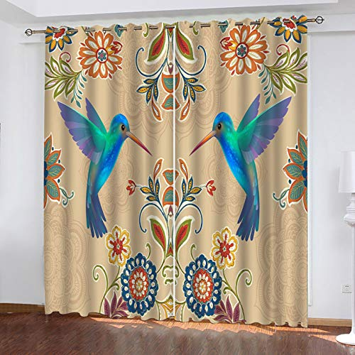 European Style Personalized Aesthetic Blackout Curtains Fashion All-Match Waterproof And Oil-Proof Curtains Suitable For Curtain Animal Patterns In Shopping Malls, Schools, Factories
