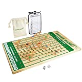 GoSports Derby Dash Horse Race Game Set - Tabletop Horse Racing with 2 Dice and Dry Erase Scoreboard