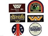 Nostromo weyland-yutani Corp Sulaco, Alien, Aliens–Aufkleber Set von 6stckers