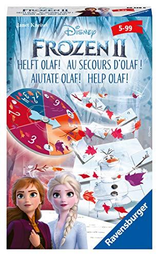 Ravensburger Mitbringspiele 20528 - Frozen 2 Helft Olaf! - Ein spannendes Mitbringspiel zum Kinofilm