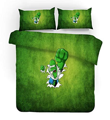 GD-SJK Simpson Duvet Cover Bedding Set - Duvet Cover and Pillow Case, The Simpsons - Microfibre Bed Linen, Duvet Cover and Pillowcase, Microfibre, 3D Digital Print (220 x 240 cm, A03)