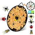 AQUAJOY Halloween Games, Kids Dart Board Games Toys for Boys Girls Teens Adults Halloween Party Favor Gifts for Indoor Outdoor Halloween Decoration