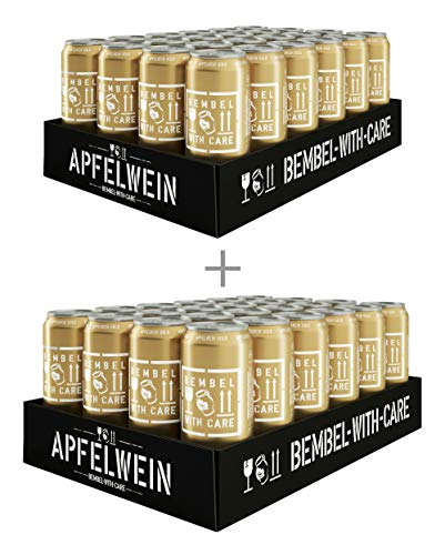 BEMBEL WITH CARE Apfelwein-Gold (48 x 500 ml)