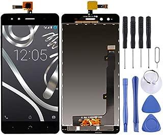 LDK Pantalla Juego de Repuesto for BQ Aquaris X5 (Negro) Pantalla LCD táctil digitalizador Asamblea Completa + Herramienta de reparación Completa (Color : Black)