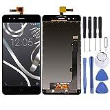 CHEJHUA Pantalla-LCD y digitalizador Asamblea Completa de BQ Aquaris X5 (Negro) HD (Color : Black)