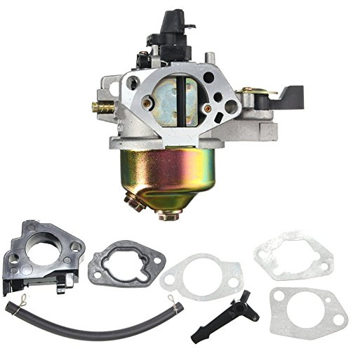 Price comparison product image Alamor Carburetor With Insulator Gasket Kit For Honda GX390 GX340 13HP