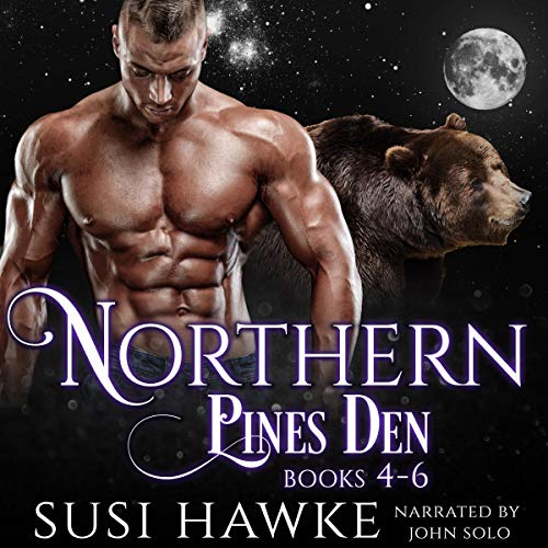 Northern Pines Den Alphas Books 4-6 audiobook cover art