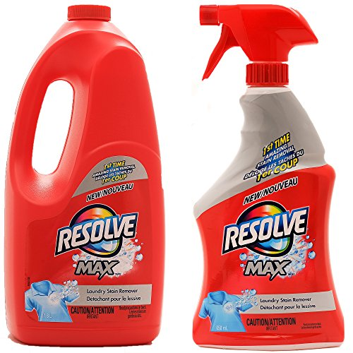 Resolve Max Spray #039N Wash Trigger amp Refill Mega Value Pack 22 floz Trigger  61 fl oz Refill Total 83 fl oz