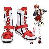 Twisted Wonderland Ace Trappola Cosplay zapatos botas Halloween carnaval disfraz Prop hecho a medida 46 tamaño masculino