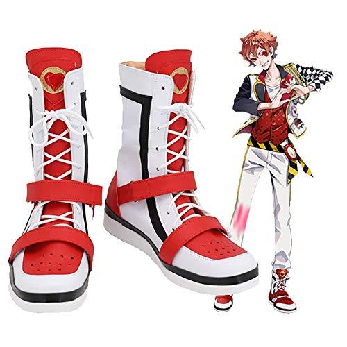 Twisted Wonderland Ace Trappola Cosplay zapatos botas Halloween carnaval disfraz Prop hecho a medida 33 tamao femenino