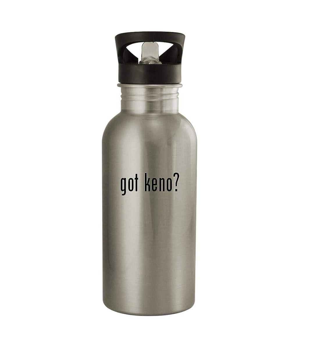 Knick Knack Gifts got Keno? - 20oz Sturdy Stainless Steel Water Bottle