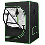 Nova Microdermabrasion Mylar Hydroponic Grow Tent Kit with Observation Window and Floor Tr...