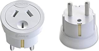 Sansai HA-SS-STV-1010 Travel Adaptor Australia/NZ to Europe