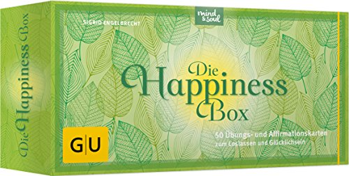 Die Happiness-Box: 50 Übungs- und Affirmationskarten zum Loslassen und Glücklichsein (GU Buch plus Körper, Geist & Seele)