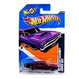 2012 Hot Wheels Muscle Mania - Mopar '69 Dodge Coronet Super Bee Purple