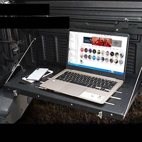 WXQYR Multifunktionale Tür Heckablage Regal und Kofferraum Aufbewahrungshalterung Heckklappe Tisch Gepäckträger Faltbarer Rahmen für Jeep Wrangler JL 2018 2019
