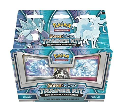 Pokemon Company International Pokémon Sun & Moon Trainer Kit 11 Alolan Sandslash & Alolan Ninetales *German V