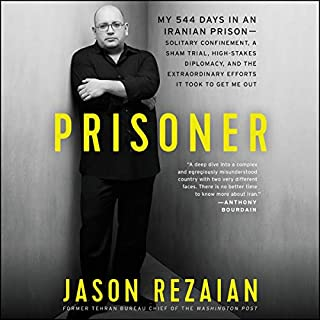 Prisoner audiobook cover art