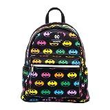 Batman Rainbow Logo Mini-Backpack - Entertainment Earth Exclusive