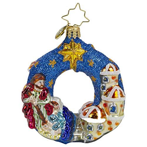 Christopher Radko Hand-Crafted European Glass Christmas Ornaments, The North Star