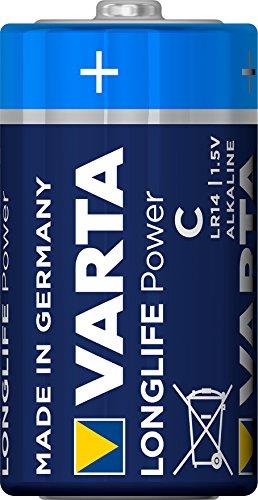 Varta 4914 LR14 High Longlife Alkali Baby C Batterie (3x 2er-Blister) 6er-Pack