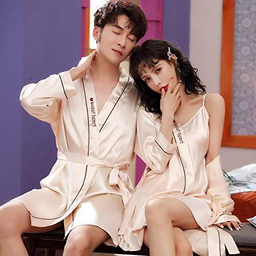 Eroticdmm dameskleding tweedelige jurk met pyjama's van ijszijdebroekdragers voor dames