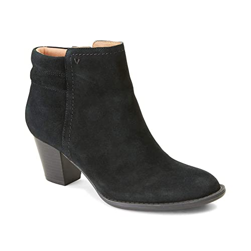 bdb032016d6 Vionic Women's Upright Jessie Ankle Boot - Ladies Boots with Concealed  Orthotic Support