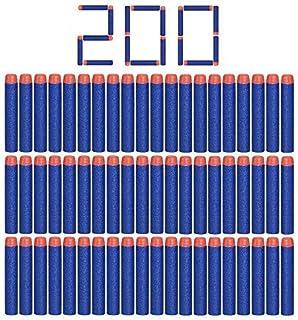 StillCool Nerf N-Strike 200pcs 7.2cm Espuma Suave Dardos Recarga Bala Blasters para Nerf N-Strike Elite Serie niños Juguete Pistola Azul Oscuro.