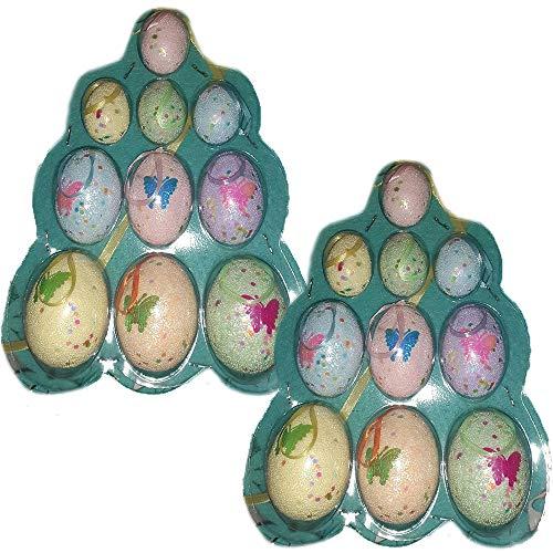 Decorazioni pasquali 20pz Uova da Centro tavola per Albero di Pasqua addobbi casa vetrina Negozio Idea Regalo