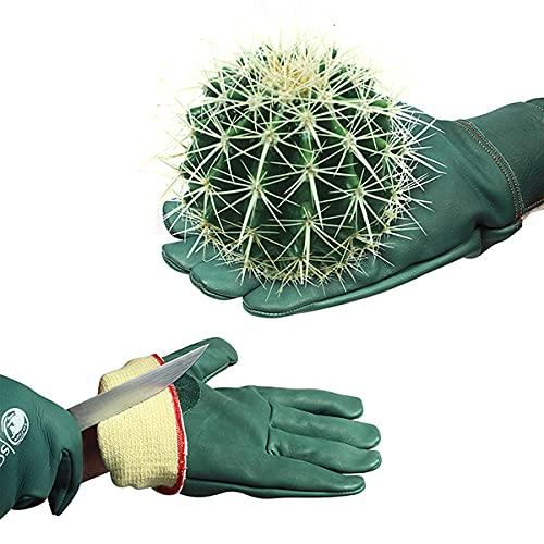 SAFTA Cut Resistant Gloves, Kevlar lining gloves with Level 5 Protection, Thorn...