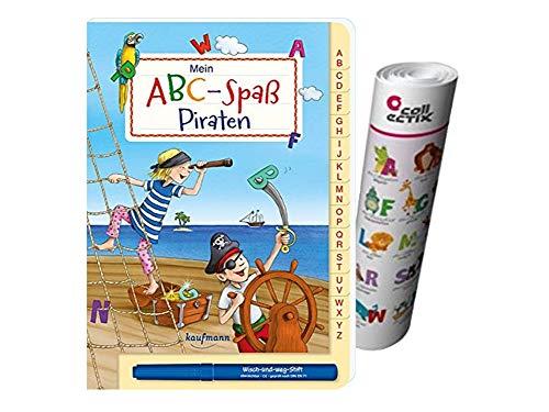 Mein ABC-Spaß Piraten + ABC Buchstaben Lernen - Poster von Collectix
